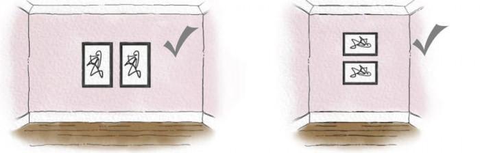 Съобразяване с ориентацията на стената