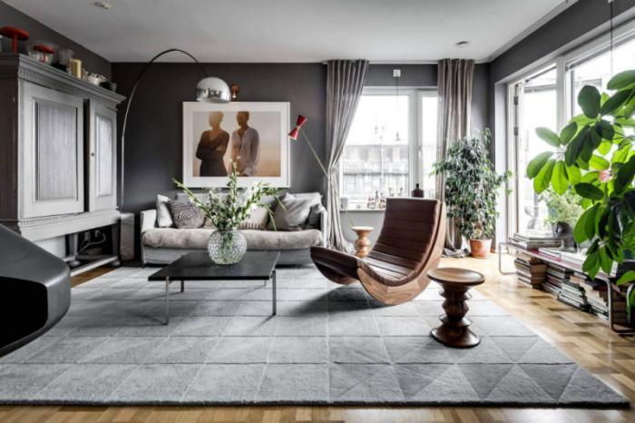 Скандинавски шик - стилен апартамент в Стокхолм