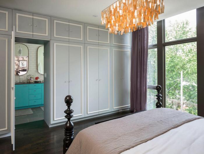 Оригинални комбинации от цветове в спалнята