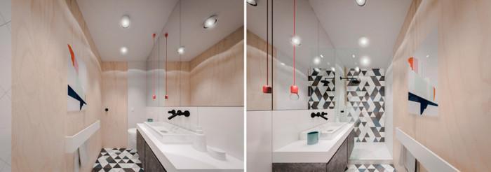 Банята в малкото жилище