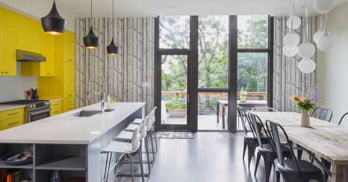 На вашето внимание представяме: Модерна къща с нестандартни ярки акценти