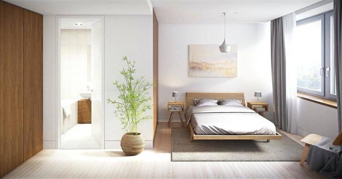 Една уютна спалня в по-голямото помещение