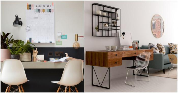 Създайте домашен кът за работа при ограничено пространство