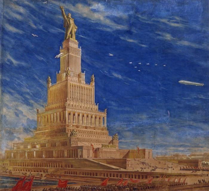 Страховити сгради от времето на комунизма, които са разрушени или неосъществени