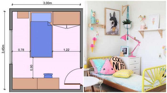 Леглото невинаги е поставено плътно до стената