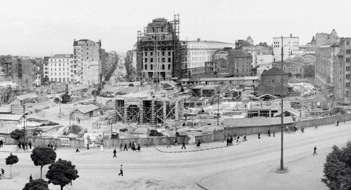 Строежа на Ларгото в средата на миналия век