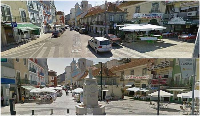 Открийте 10-те разлики с Google Street View!