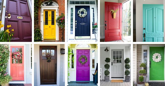 Основни правила при избора на входна врата