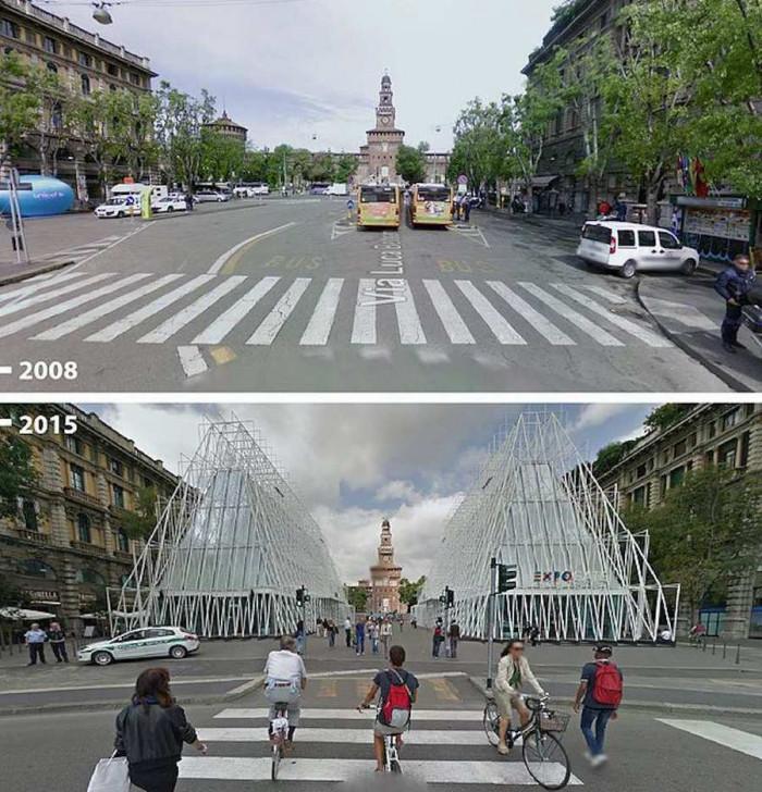 Милано, Италия 2008-2015