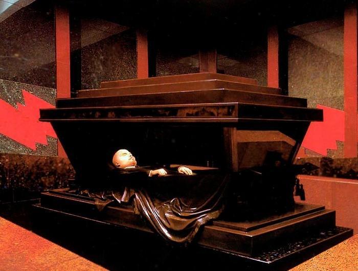 Тялото на Йосиф Сталин