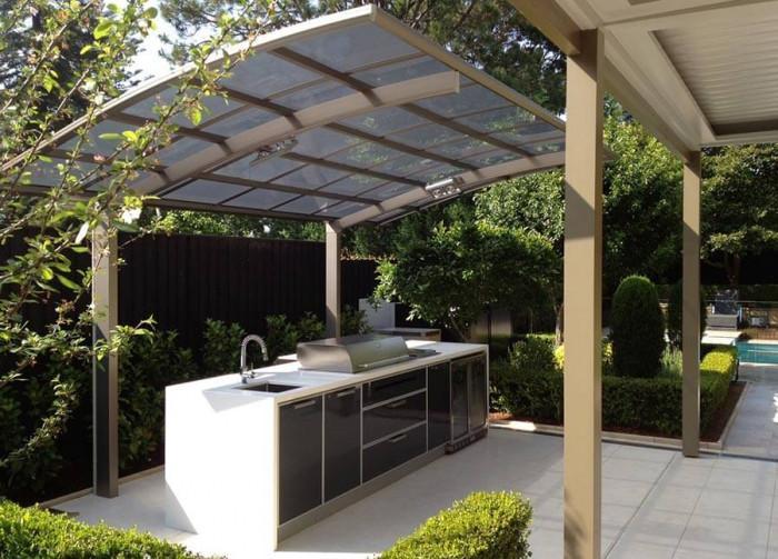 Нов начин да използвате малкото пространство в двора