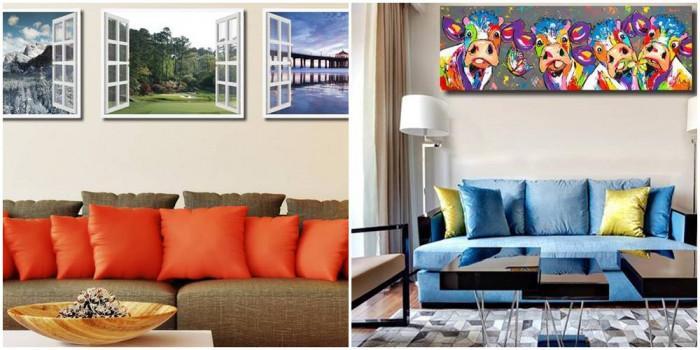 Поканете необичайното изкуство в дома си