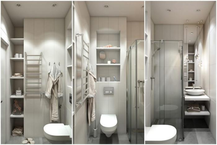 Банята впечатлява с малки размери, но стилна визия