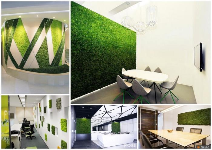 Зелена декорация в офиса