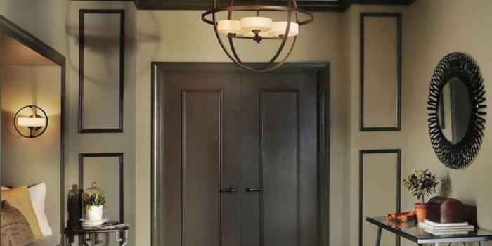 Светлина на входа - съвет за лампите в антрето