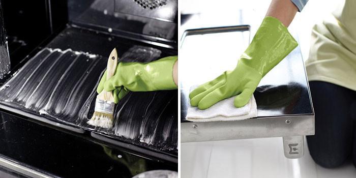 Почистете фурната и котлоните: Стъпка 1