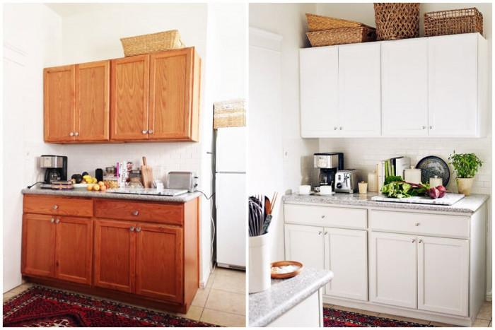 Ефектно преобразяване на малка кухня