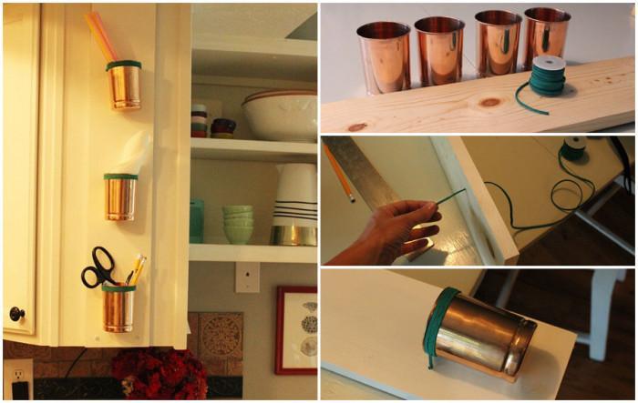 Метални чашки за съхранение на пакетчета с подправки