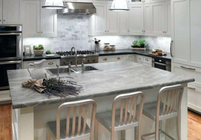 Кухненски плот от сапунен камък/сеатит