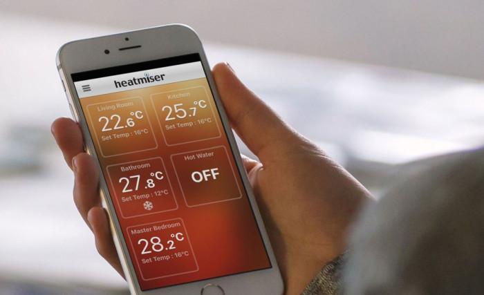 Каква е минималната температура за захранване на водно подово отопление?