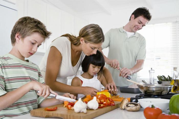 Начални стъпки на готвача любител: 8-9 години