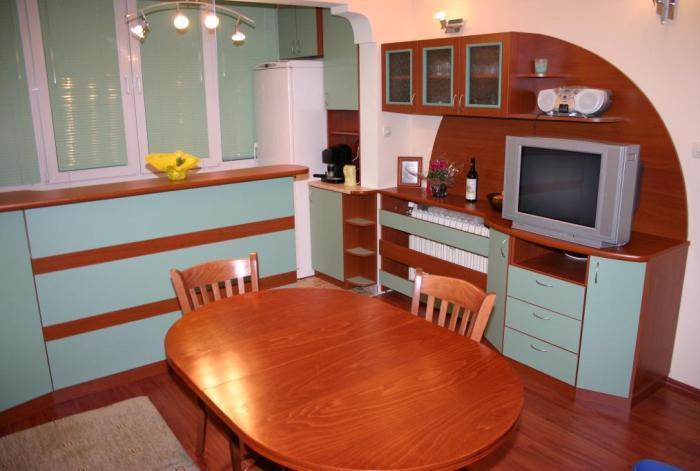 Предимства от обособяването на терасата в кухня