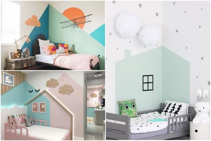 Геометрично боядисани стени – неповторимост и практичност