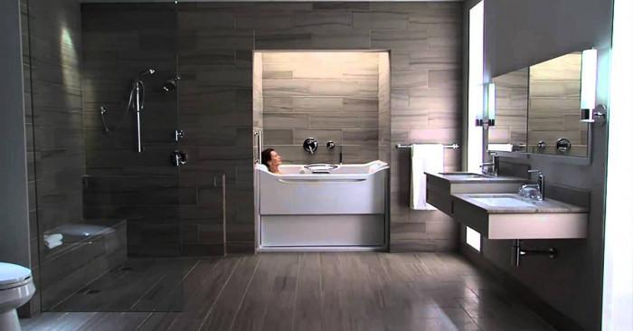 Простор в банята, ако заложим на конкретен стил