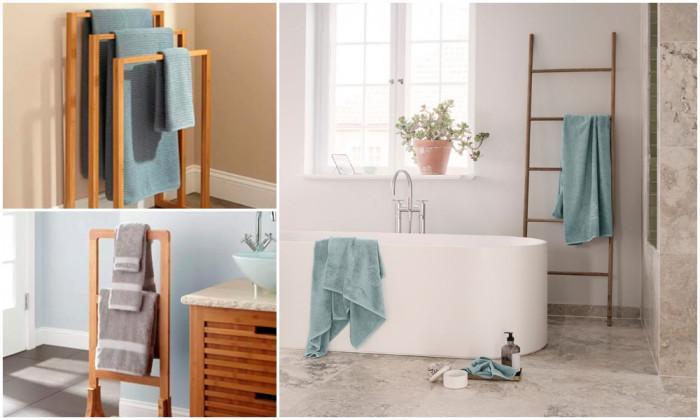 Добавете текстил за баня