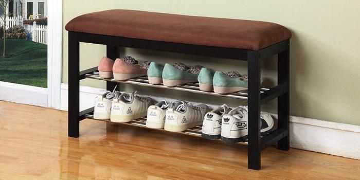 Обикновени рафтове за обувки