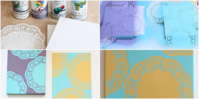 Спрей-боята идва на помощ за създаването на красива мандала