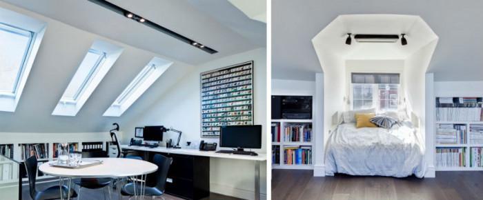Как един неугледен таван се превръща в кокетен мансарден апартамент