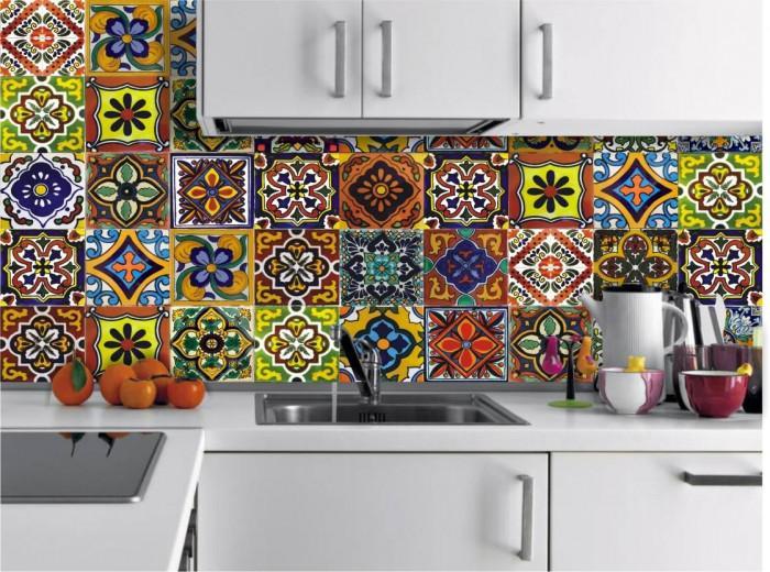 Шарените плочки обзавеждат почти всяка нова кухня
