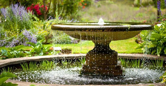 Водните инсталации в градината