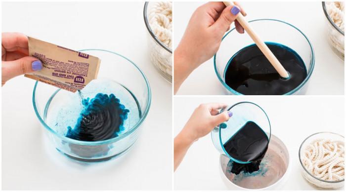 Разтворете боята според указанията на опаковката