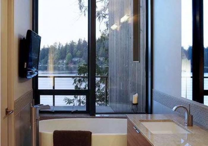 Модерен стил в малката баня