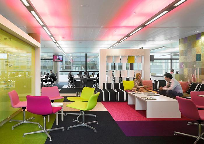 Цветовете в офиса са изключително важни