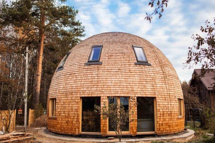 Изграждане на кръгли къщи - поглед в бъдещето с апел към природата
