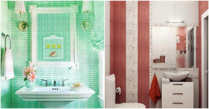 Свежи и артистични идеи за преобразяване на малката баня
