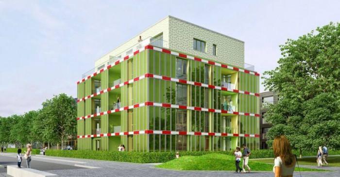 Как една сграда в Германия постига енергийна ефективност с помощта на водорасли
