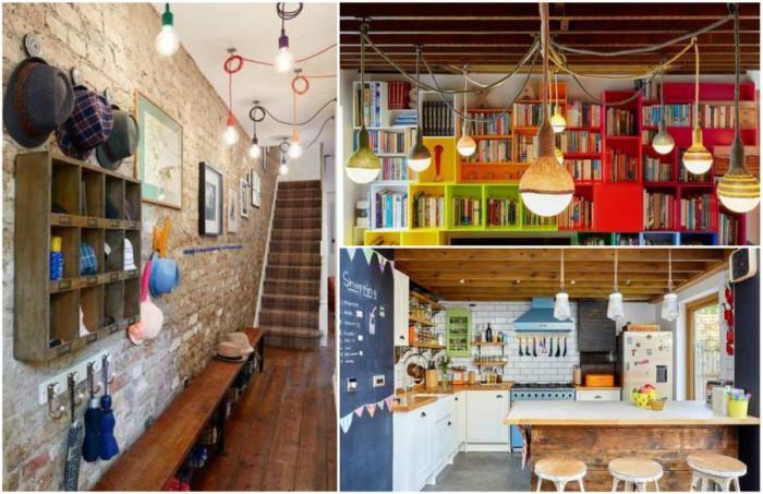 Дизайнерски дом в Лондон очарова с колорит и оптимистично излъчване
