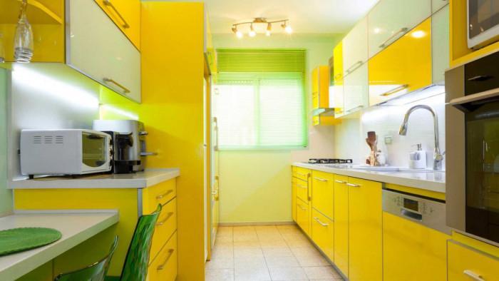 Идеи за слънчева жълта кухня