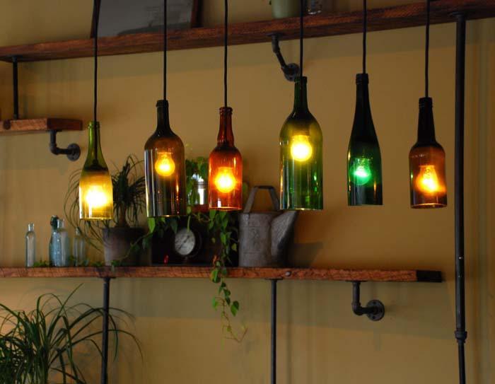Лампи от бутилки