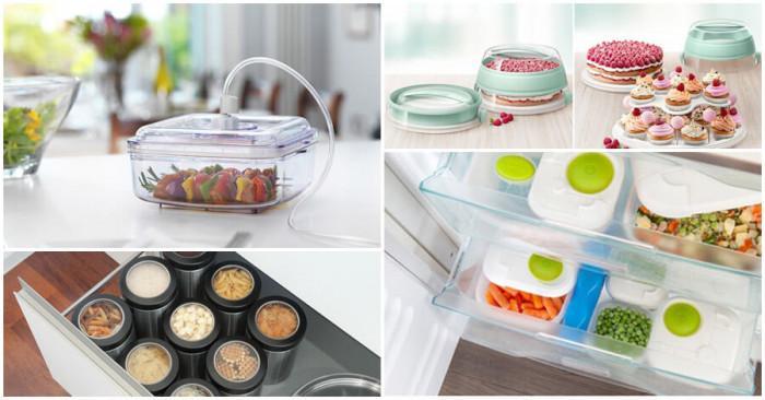 Приведете кухнята си в ред с тези невероятни кутии за съхранение