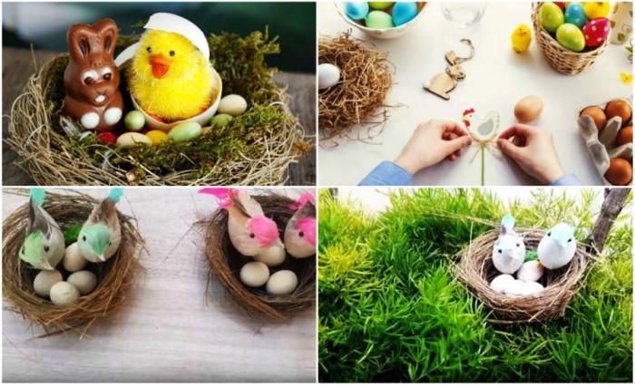 Направи си сам птиче гнездо за Великден