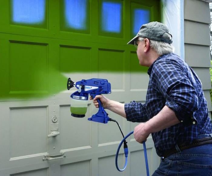 Машинно боядисване с латекс
