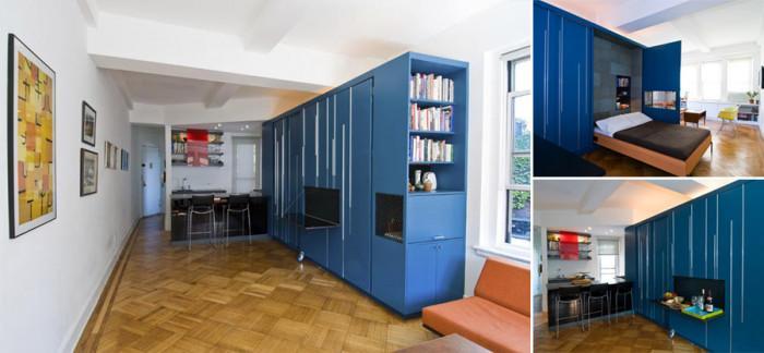 Хитри дизайнерски трикове за оптимизиране на 3 мини апартамента