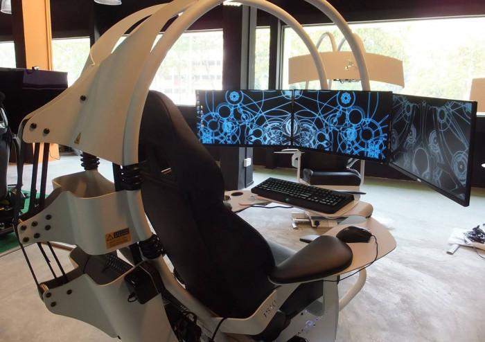 Видове геймърски столове - №3 Напълно оборудвани столове