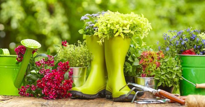 Декоративни елементи за оформяне на градината