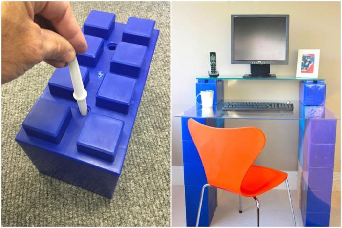 За изграждането на библиотека поставете допълнителни плоскости